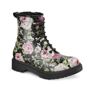 Mossimo Supply Co.: Floral Regina Boot